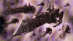 Flota de Batalla en la Disformidad