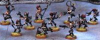 Brujas Drukhari 3ª Edición miniaturas