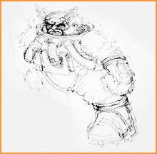 Demiurgo Jes Goodwin boceto