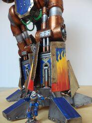 Titan Reaver 7 5 Detalle pierna