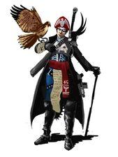 Comisario del Regimiento Harakoni de la Guardia Imperial