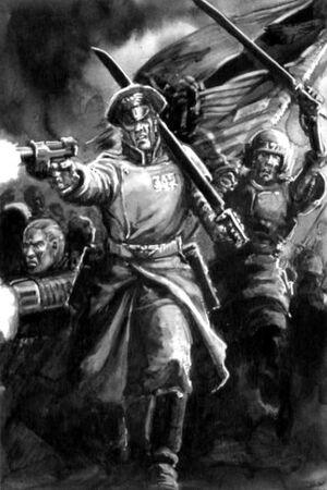 Escuadra de Mando Atacando