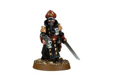 Mini GI legion de acero comisario