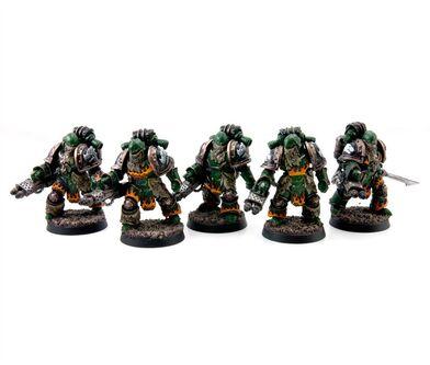 Escuadra Piroclastas Salamandras Gran Cruzada
