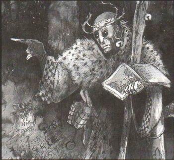 Predicador Eclesiarquía John Blanche 2ª Edición ilustración