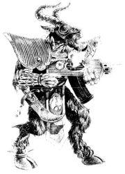 Hombre Bestia Tzaangor