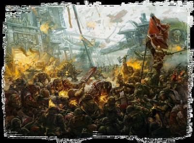 Orkos waaagh rojo