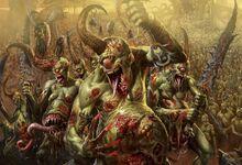 Caos demonio nurgle portadores de plaga