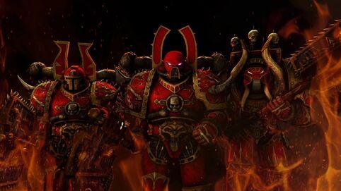 Caos khorne marines berserkers
