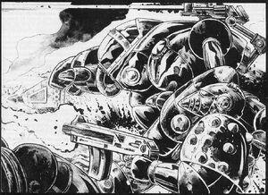 Operación Cartago Leones del Desierto Pete Knifton 1ª Edición ilustración