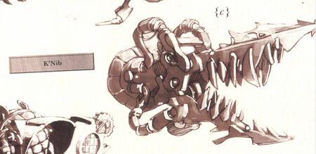 Artefacto K'Nib Xenology ilustración