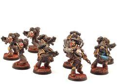 Escuadra marines escorpiones rojos