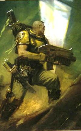 Explorador Marines Espaciales Puños Imperiales Warhammer 40k Wikihammer
