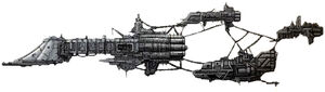 Nave Comercial Stryxis Xebec Crucero Ligero Classe Impavido Flota Imperial Destructor Iconoclasta Caos Wikihammer