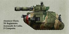 Guardia Imperial tanque leman russ cadia