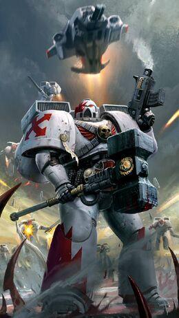 Marines cicatrices blancas escuadra asalto