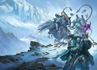 Caos legion alfa legionarios mundo helado