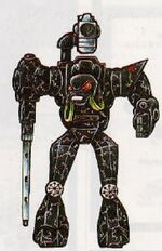 Mechanicus robot Conqueror