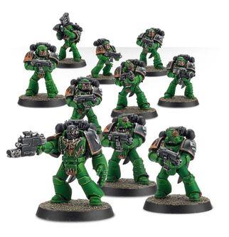Escuadra Táctica Veterana Mk. IV Maximus Legión Salamandras