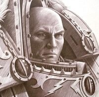 Horus portrait 40k primarch