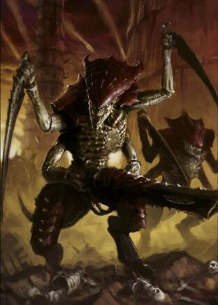 Tiranidos guerrero tiranido