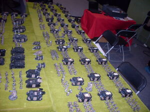 Arcadios del Emperador Games Day España 2009 diorama 3