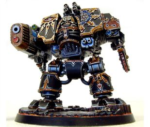 Caos dreadnought legion negra