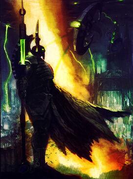 Imothek Señor de la Tormenta Lider Supremo Necron Wikihammer