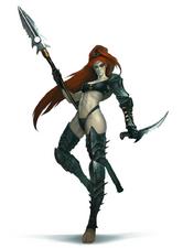 Lelith Hesperax Bruja Eldar Oscura