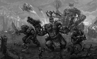 Orkos batalla noblez lataz warhammer 40k wikihammer
