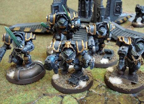 Exterminadores 2 lobos espaciales herejía de horus wikihammer
