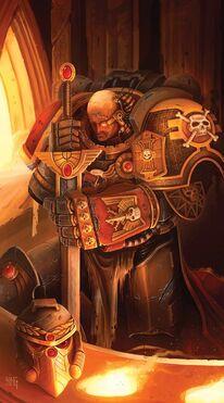 Guardianes de la Muerte Ultramarine Guardia de Honor Juramento Ordo Xenos Wikihammer