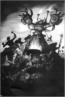 Inquisidor versus fuerzas caos wikihammer