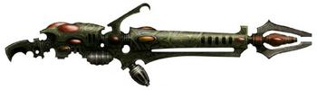 Eldar oscuro arma blaster de disrupcion