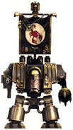 Escorpiones Rojos Dreadnought Venerable Hermano Veterano Pawel Marines Espaciales Astartes Wikihammer