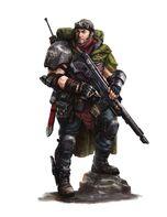 Gi fantasmas tanith soldado