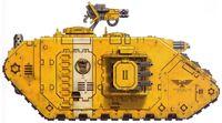 Land Raider Cruzado Puños Imperiales FW ilustración