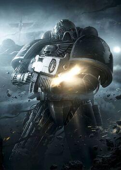 Marines manos de hierro hermano de batalla partes maquina