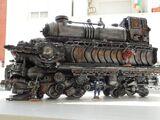 Escenografía: Locomotora Imperial con material usado