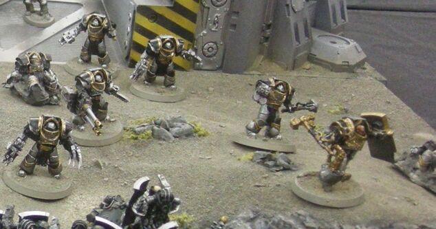 Guerreros de hierro herejía de horus wikihammer 5