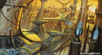 Mundo astronave eldar lugganath warhammer 40k wikihammer