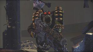 Orkos komando lanzallamas space marine