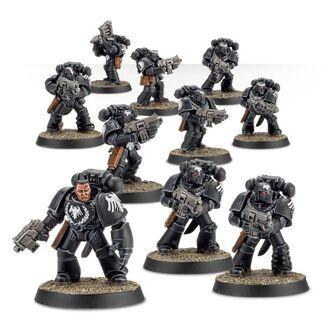 Escuadra Táctica Veterana Mk. VI Corvus Legión Guardia del Cuervo