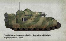 Guardia Imperial tanque superpesado stormsword cadia