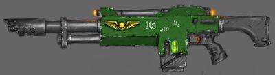 Rifle láser modelo Laxis M38