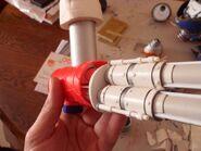 Titan Reaver 9 Destructor Laser 5 2 Ensamblaje arma Vista lateral