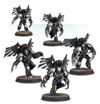 Escuadra de Asalto Furia Oscura Legión Guardia del Cuervo