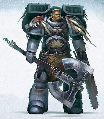 Marine señor lobo Sven Aullador