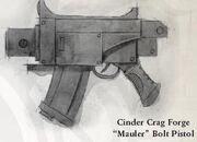 Mauler bolt pistol