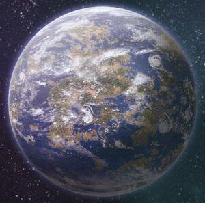 Phall II mundo oceánico Forge World ilustración